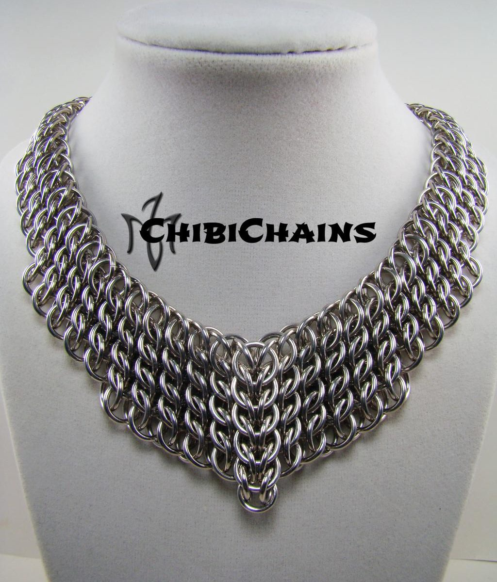 Necklace Half Persian by Chibi Chains